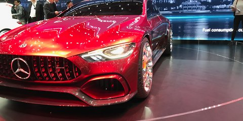 Mercedes-AMG GT Concept points to advanced powertrains, new models in the very near future