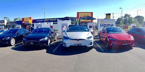Tesla Supercharger site opens in Ballarat