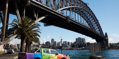 Behind the scenes: 2017 Sydney Gay and Lesbian Mardi Gras in a Holden Colorado ute