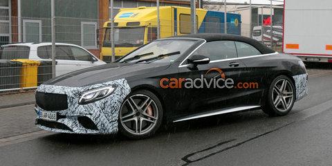2018 Mercedes-AMG S63 Cabriolet update spied