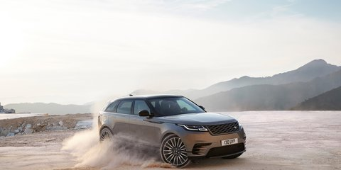 Range Rover Velar points to an evolved design language