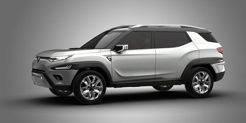 SsangYong XAVL concept revealed