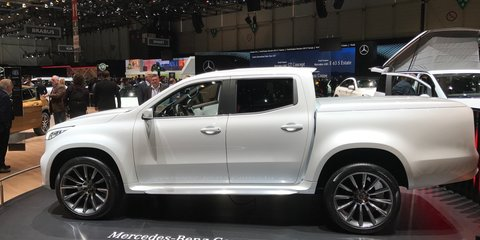 Mercedes-Benz says 'No' X-Class single cab, and 'No' to AMG version