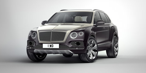 Bentley Bentayga Mulliner revealed