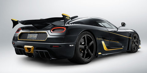 Koenigsegg Agera RS Gryphon: One-off hypercar with 24-carat gold trim revealed