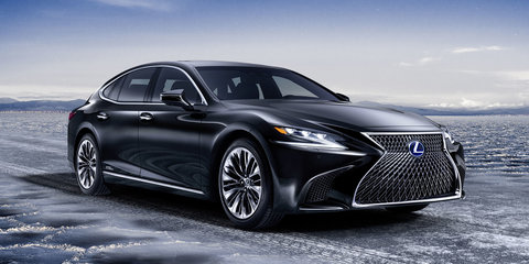2018 Lexus LS500h revealed