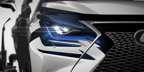 2017 Lexus NX facelift teased ahead of Shanghai debut