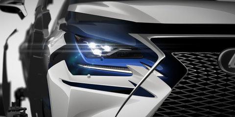 2017 Lexus NX facelift teased ahead of Shanghai debut