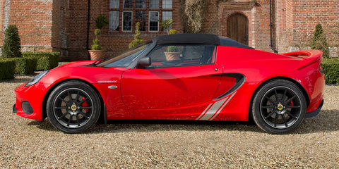 2017 Lotus Elise Sprint unveiled with less weight, changes for rest of range
