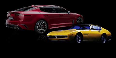 Kia Stinger: 'a modern Gran Turismo' inspired by Maserati