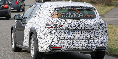 2017 Opel Insignia Country Tourer spied