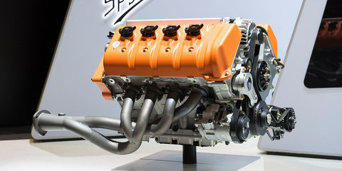 Spyker C8 Preliator Spyder unveiled with new Koenigsegg V8 engine