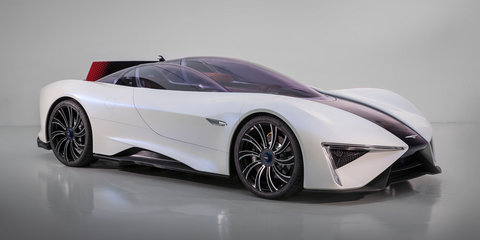 Techrules Ren: Turbine-recharged electric supercar revealed