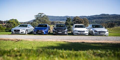 Australia's luxury car market suddenly struggling
