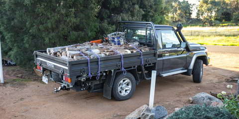 2017 Toyota LandCruiser 70 Series ute review long-term report three – load lugging