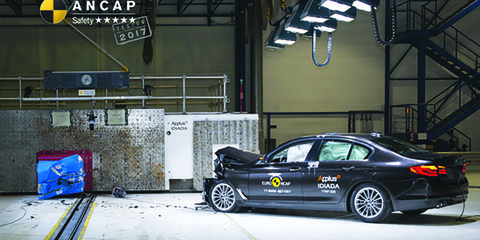 2017 BMW 5 Series scores five-star ANCAP safety rating - UPDATE