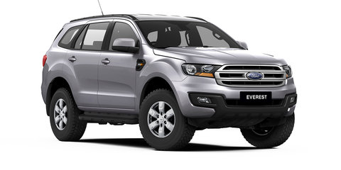 2017 Ford Everest pricing and specs: New entry model, Sync 3 goes standard