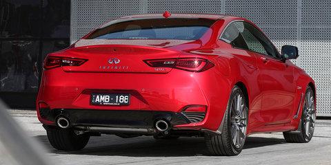 2017 Infiniti Q60 Red Sport on sale in Australia