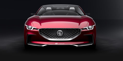 MG confirms all-wheel drive electric sports car