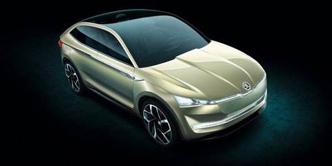 Skoda Vision E revealed in Shanghai