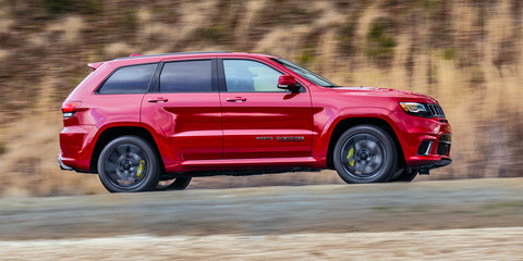 2017 Jeep Grand Cherokee Trackhawk revealed, Australian arm keen