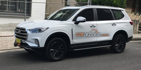 LDV D90 off-road SUV touches down in Oz for testing ahead of Shanghai debut - UPDATE