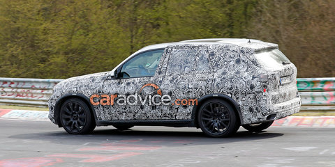 2018 BMW X5, X7 spied at the Nurburgring