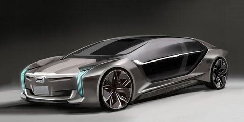 Qoros K-EV concept revealed ahead of Shanghai debut