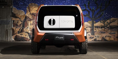 Toyota FT-4X concept surfaces ahead of New York debut