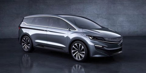 Geely MPV Concept unveiled at Shanghai show