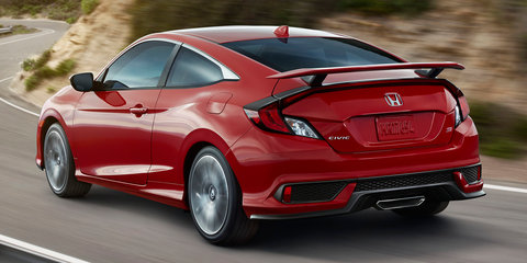 Honda Civic Si unveiled in the USA, bridges gap to Type R