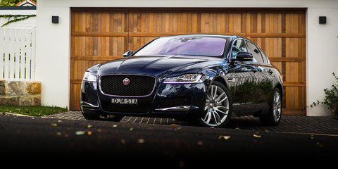 2017 Jaguar XF Portfolio 25t review