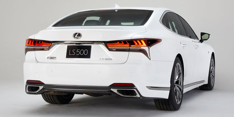 2018 Lexus LS F-Sport unveiled ahead of New York show