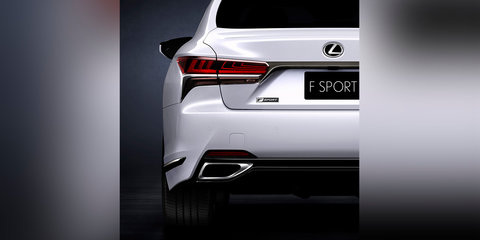 2018 Lexus LS F-Sport package to debut in New York