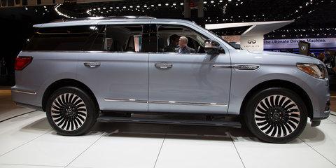 2018 Lincoln Navigator: Aluminium Cadillac Escalade competitor launched