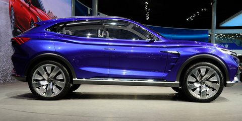 Roewe Vision-E concept previews 2018 crossover