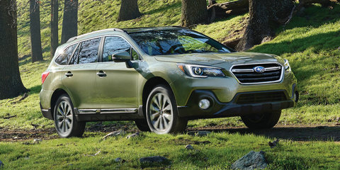 2018 Subaru Outback facelift unveiled in the US