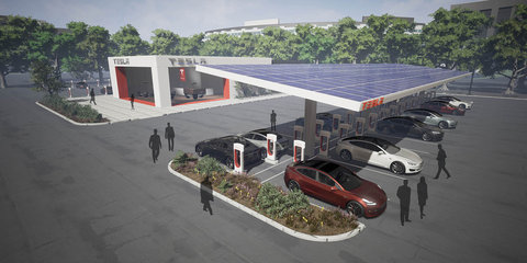 Tesla Supercharger global network to double by 2018