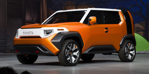 Toyota FT-4X concept is '75 per cent' production ready