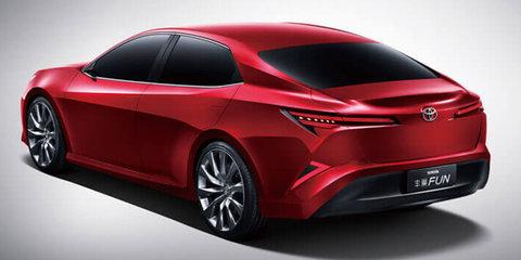 Toyota Fengchao Fun concept previews Asian Camry