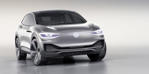 Volkswagen ID Crozz concept: Electric 'coupe SUV' unveiled