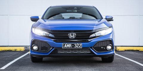 2017 Honda Civic VTi-LX v Hyundai i30 SR Premium comparison