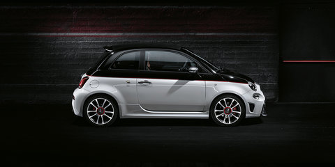 2017 Abarth 595 here in October