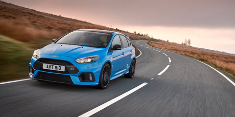 Ford Focus RS Option Pack adds LSD, black highlights, on the cards for Australia