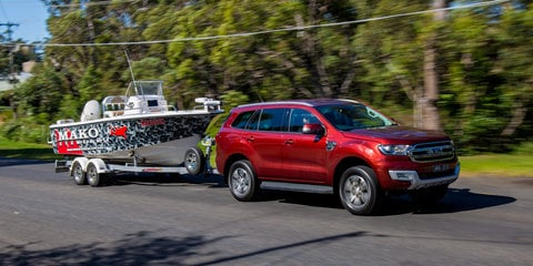 2017 Ford Everest Trend RWD tow test