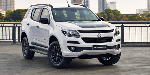 2017 Holden Trailblazer Z71 styling pack arrives