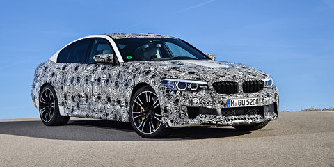 "2018 BMW M5: Turbo V8, AWD and 0-100 in ""under 3.5 seconds"" all confirmed"