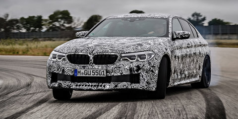 2018 BMW M5 revealed in Need for Speed game front cover