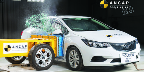 Holden Astra sedan, Subaru XV score five-star ANCAP rating