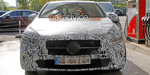 2018 Mercedes-Benz A-Class drops more camouflage in new spy photos